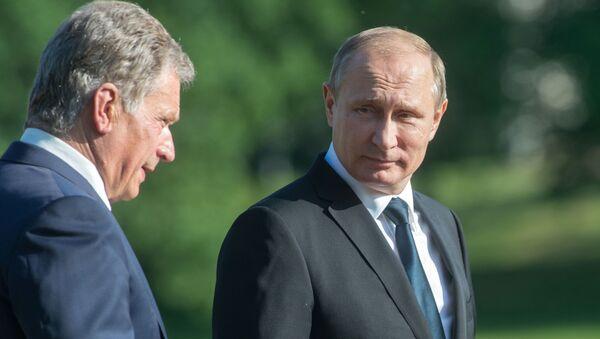Sauli Niinistö a Vladimir Putin - Sputnik Česká republika