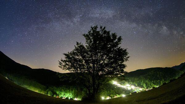 Mléčná dráha v nebi nad Maďarskem - Sputnik Česká republika