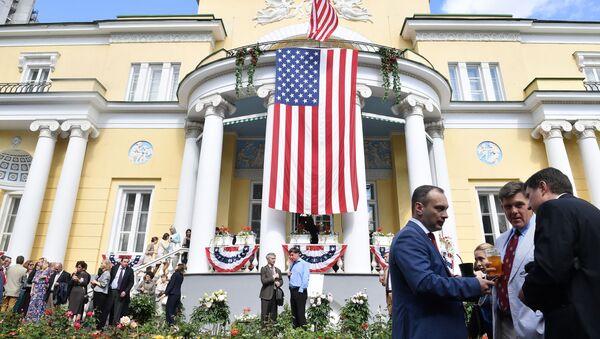 Rezidence velvyslance USA v Rusko - Sputnik Česká republika