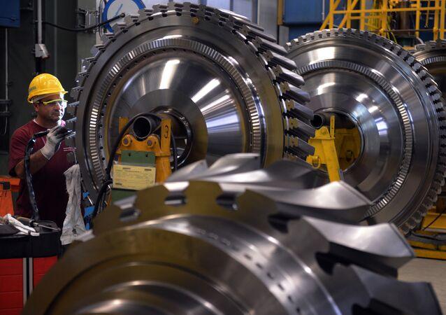 Továrna na výrobu turbín