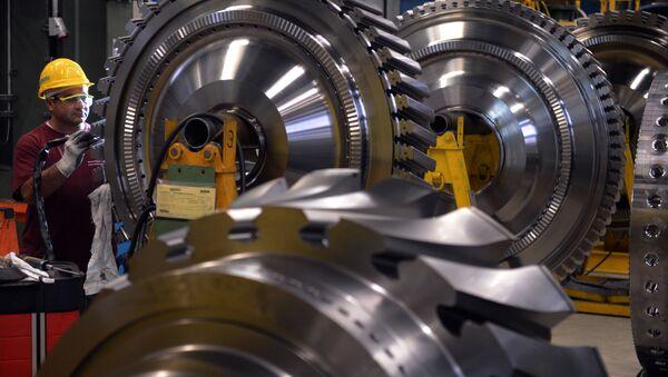 Továrna na výrobu turbín - Sputnik Česká republika