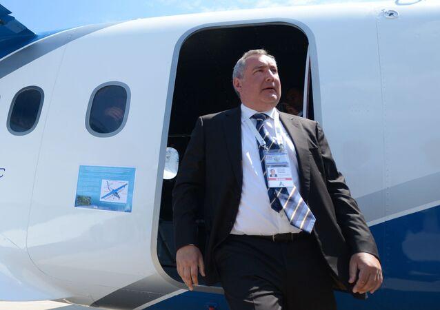 Ruský vicepremiér Dmitrij Rogozin (ilustrační foto)
