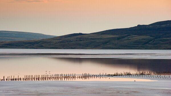 Jezero Čokrak na Krymu - Sputnik Česká republika