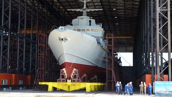 Malá raketová loď projektu 22800 - Sputnik Česká republika
