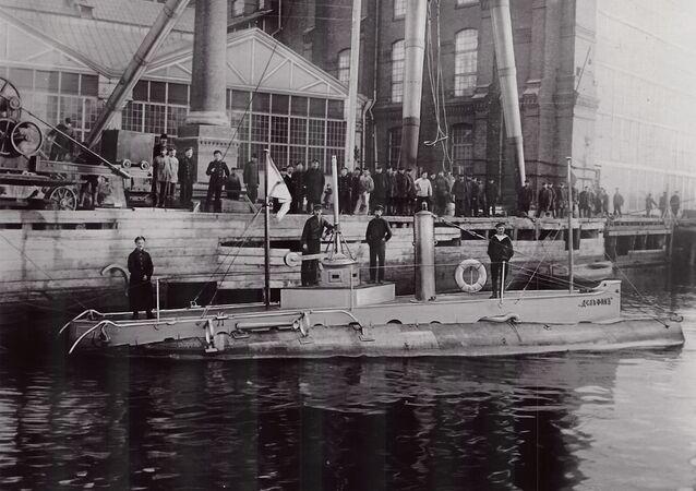 Ponorka Delfín