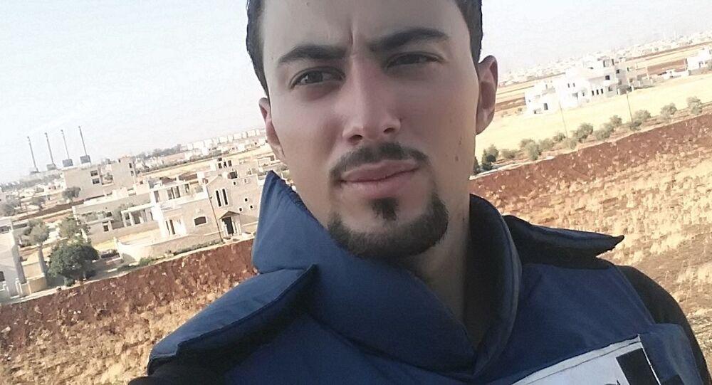 Stringer televize RT Khaled al-Khateb