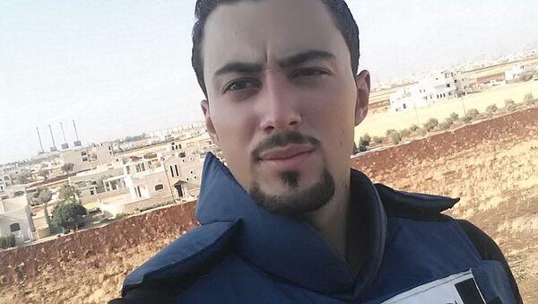 Stringer televize RT Khaled al-Khateb - Sputnik Česká republika