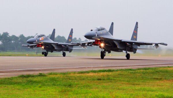 Čínská letadla SU-30 - Sputnik Česká republika