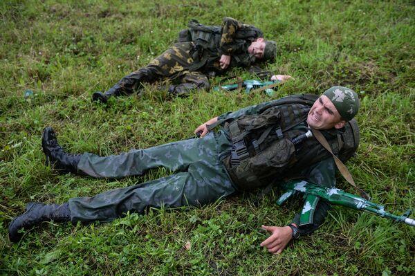 Soutěž Vynikající vojenští rozvědčíci - Sputnik Česká republika