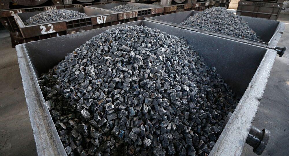 Vozík s uhlím