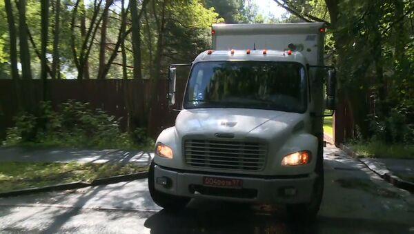 Vozy amerického velvyslanectví opustily vilu v Serebrjaném boru - Sputnik Česká republika