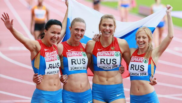 Ruské běžkyně. Archivní foto - Sputnik Česká republika