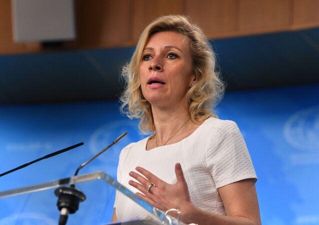 Mluvčí ruského ministerstva zahraničních věcí Maria Zacharovová