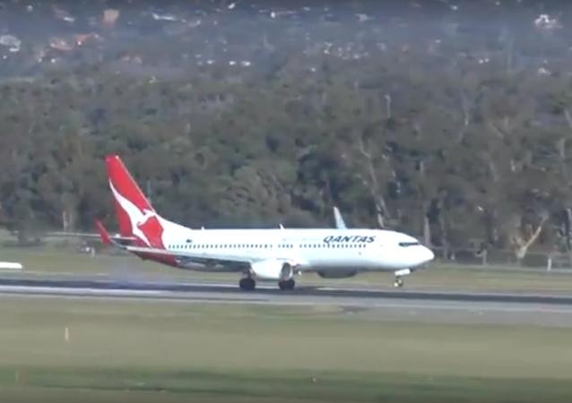 V Austrálii natáčeli přistání letadel při větru o rychlosti 100 km/h