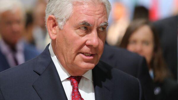 Americký ministr zahraničí Rex Tillerson - Sputnik Česká republika