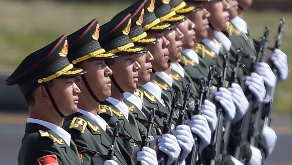 Čínská vojska - Sputnik Česká republika
