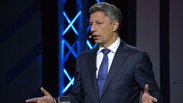 Spolupředseda parlamentní frakce ukrajinského Opozičního bloku Jurij Bojko - Sputnik Česká republika