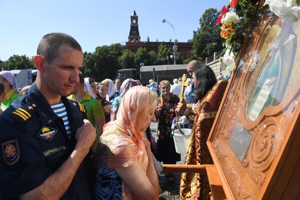 Den výsadkových vojsk v ruských městech - Sputnik Česká republika