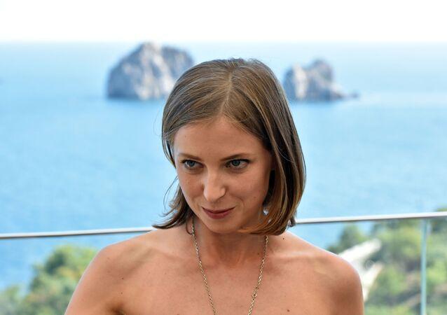 Ruská poslankyně za Jednotné Rusko Natalja Poklonskaja