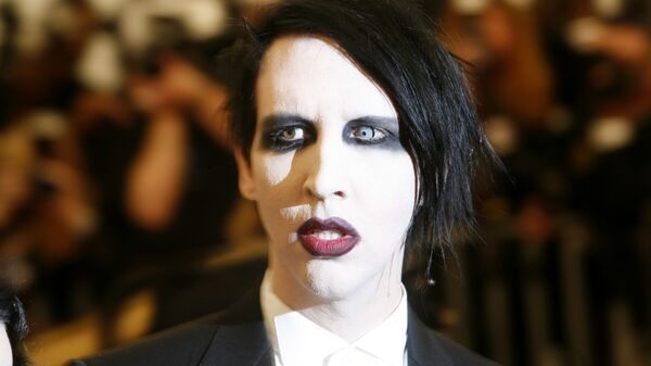 Rokový muzikant Marilyn Manson  - Sputnik Česká republika