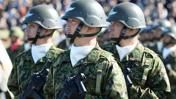 Военнослужащие Сил самообороны Японии - Sputnik Česká republika