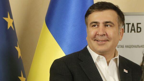 Bývalý gebernátor Oděské oblasti a bývalý prezident Gruzie Michail Saakašvili - Sputnik Česká republika