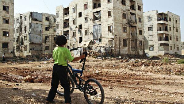 Dítě v Aleppu - Sputnik Česká republika