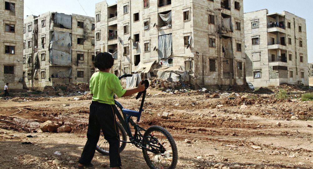 Dítě v Aleppu