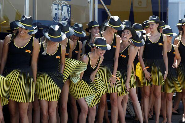 Dívky Formule 1, Maďarsko - Sputnik Česká republika
