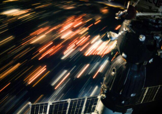 Pohled na Zemi z Mezinárodní vesmírné stanice