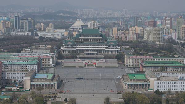 Pohled na náměstí Kim Ir-sen - Sputnik Česká republika