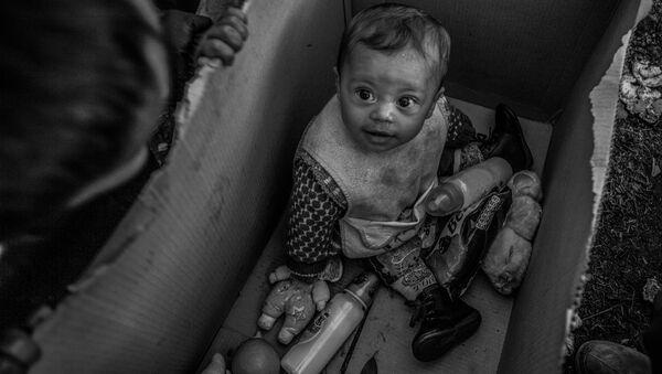 Snímek řecké fotografky Anny Panteliové Evropský sen byl vyznamenán třetí cenou v nominaci Hlavní zprávy. Jednotlivá fotografie, a rovněž zvláštní cenou Mezinárodního výboru Červeného kříže Za humanitární fotografii - Sputnik Česká republika
