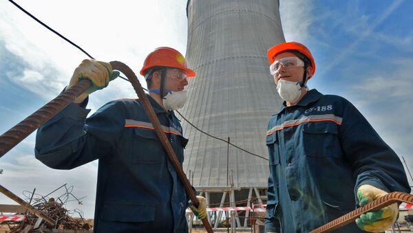 Beloruská jaderná elektrárna - Sputnik Česká republika