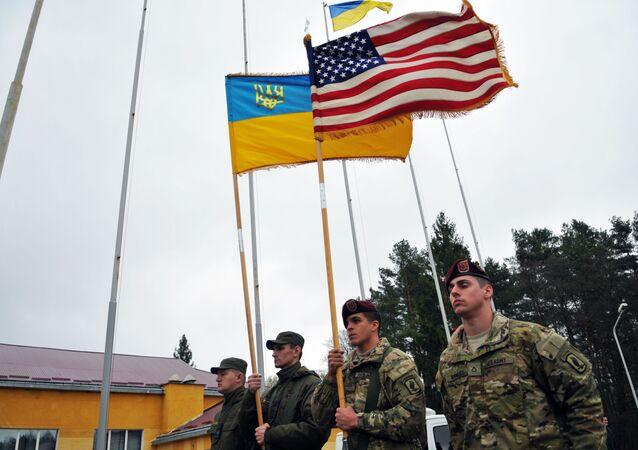 Američtí instruktoři na Ukrajině (2015)