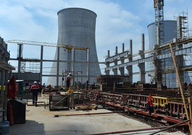 Výstavba Běloruské atomové elektrárny