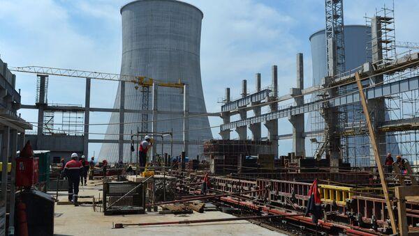 Výstavba Běloruské atomové elektrárny - Sputnik Česká republika