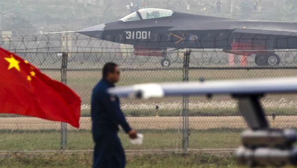 Čínská stíhačka Šen-Jang J-31 - Sputnik Česká republika