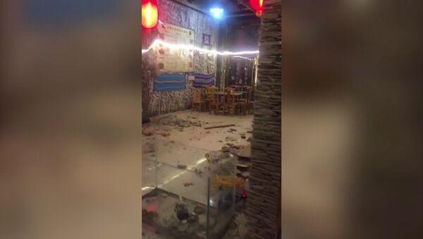 Následky zemětřesení v Číně - Sputnik Česká republika