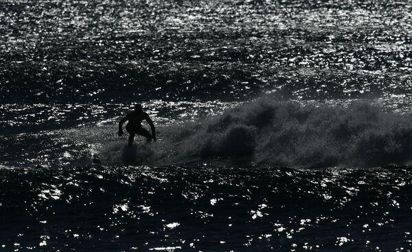 Surfování na Kamčatce - Sputnik Česká republika