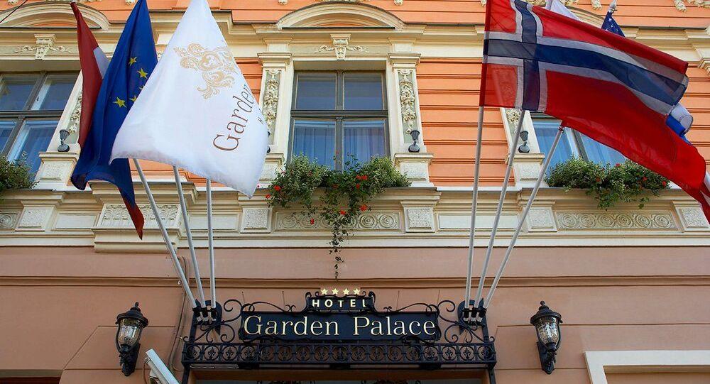 Hotel  Garden Palace v Rize