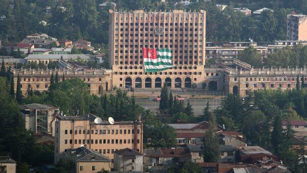 Budova parlamentu, Abcházie. - Sputnik Česká republika