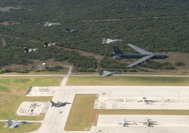 Americká letecká základna Andersen na ostrově Guam