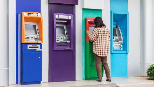 Bankomat. Illustrační foto - Sputnik Česká republika