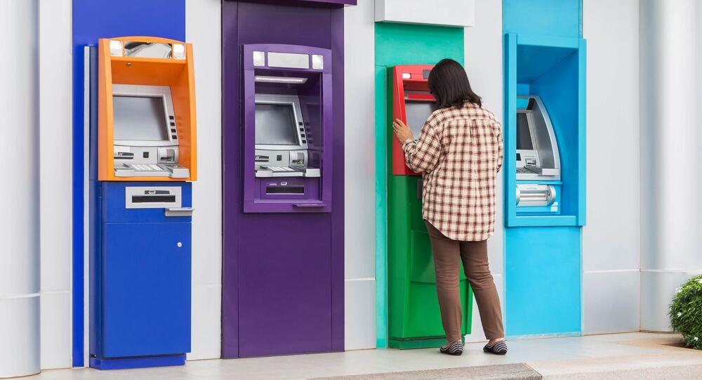 Bankomat. Illustrační foto