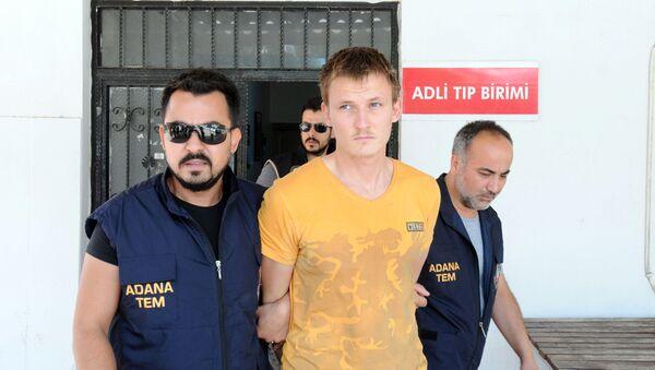 Ruský občan Renat Bakijev, který byl zadržen v Turecku - Sputnik Česká republika