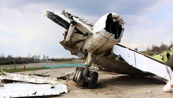 Zlomky Tu-154 - Sputnik Česká republika