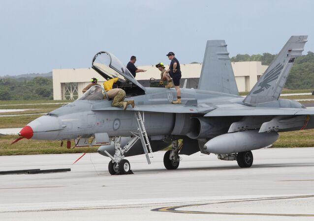 Letecká základna USA na ostrovu Guam