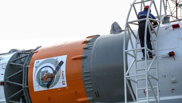 Nosná raketa Sojuz-2.1a. Archivní foto - Sputnik Česká republika