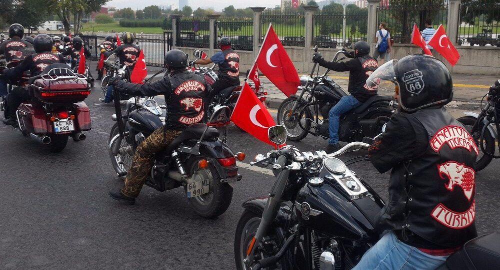 Motorkáři klubu Anatolian Tigers