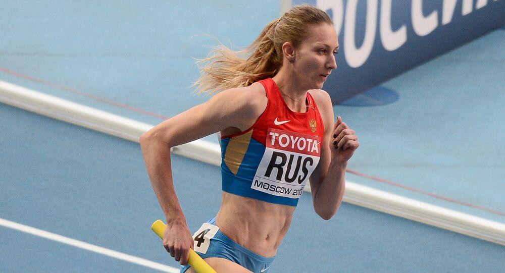 Ruská atletka Taťána Firovová